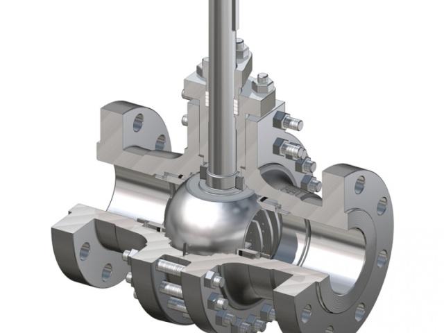 Uždarantieji rutuliniai rankiniai ir automatiniai ventiliai